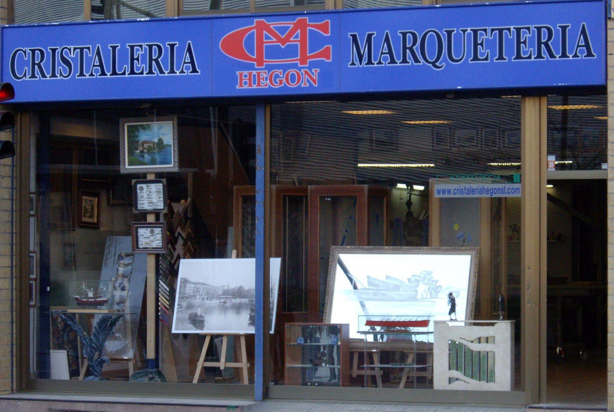 Cristaleros y enmarcadores en Bilbao
