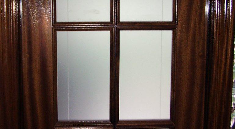 Puertas de cristal aéreas
