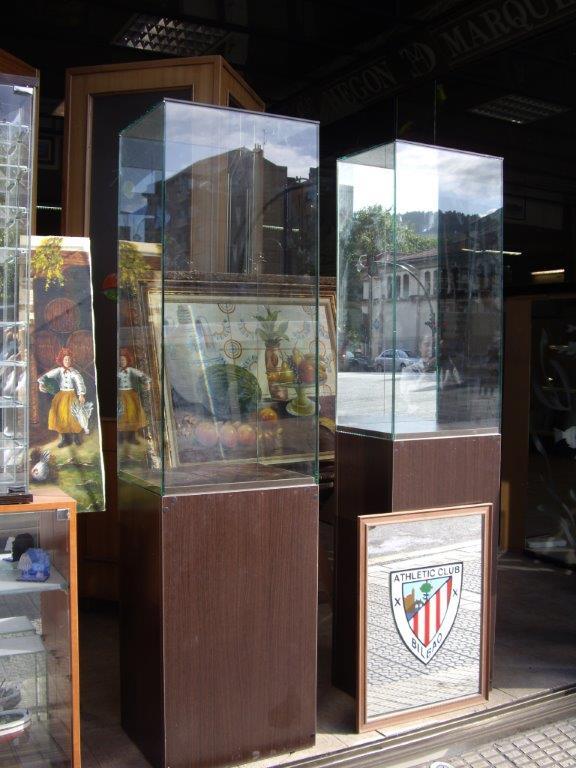 Urnas de cristal, Bilbao