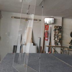 Mamparas de cristal