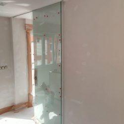 Puertas aéreas de cristal en Bilbao