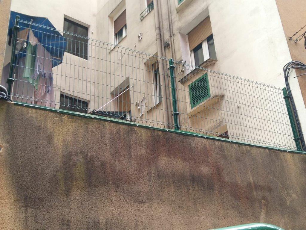 Colocación de verajas en Bilbao